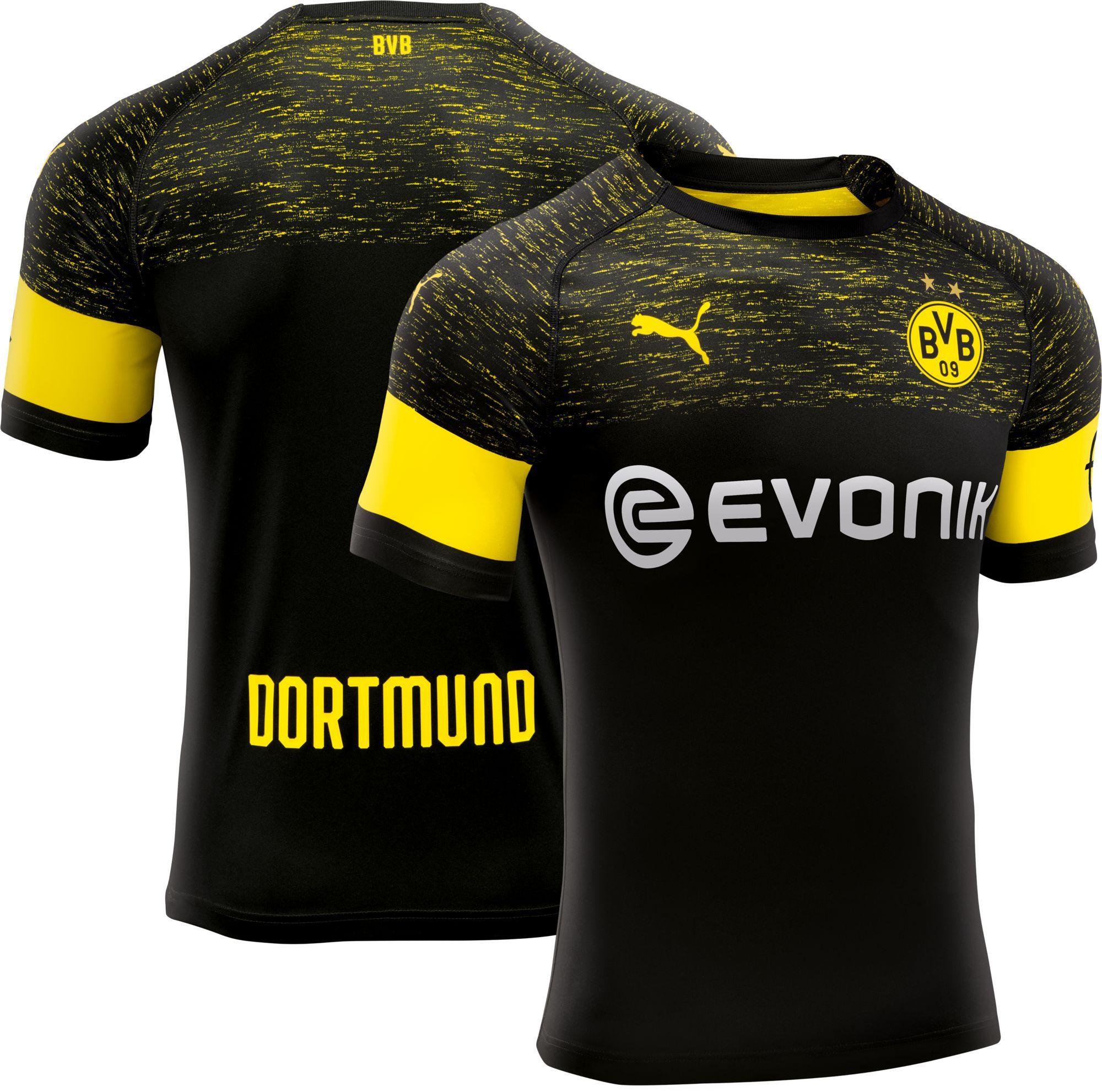 153934ac5 PUMA Men s Borussia Dortmund 2018 Stadium Away Replica Jersey