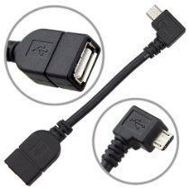 Micro Usb Host Mode On The Go Otg Cable For Nexus 7 10 Xoom Galaxy S4 S2 S3 The Htc One Toshiba Tg01 Archos G9 With Images Micro Usb Tv Accessories Otg