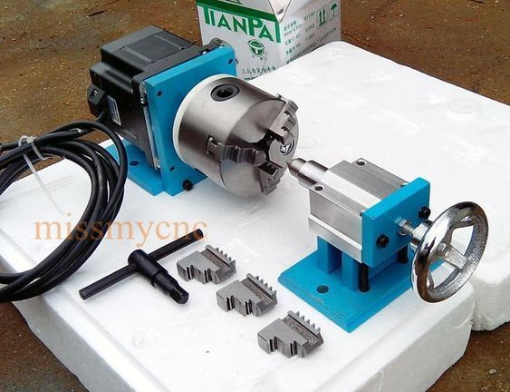 details over cnc router rotational rotary axis a 4th axis 3 jaw rh pinterest com