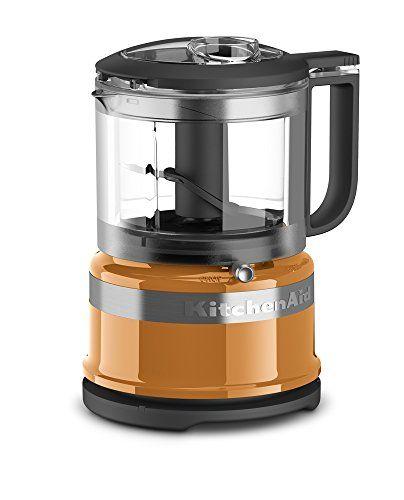 Kitchenaid Kfc3516tg 35 Cup Mini Food Processor Tangerine Want