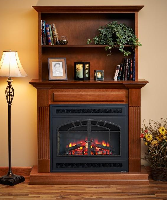 this is a cool fireplace bookshelf combination modern electric rh pinterest com