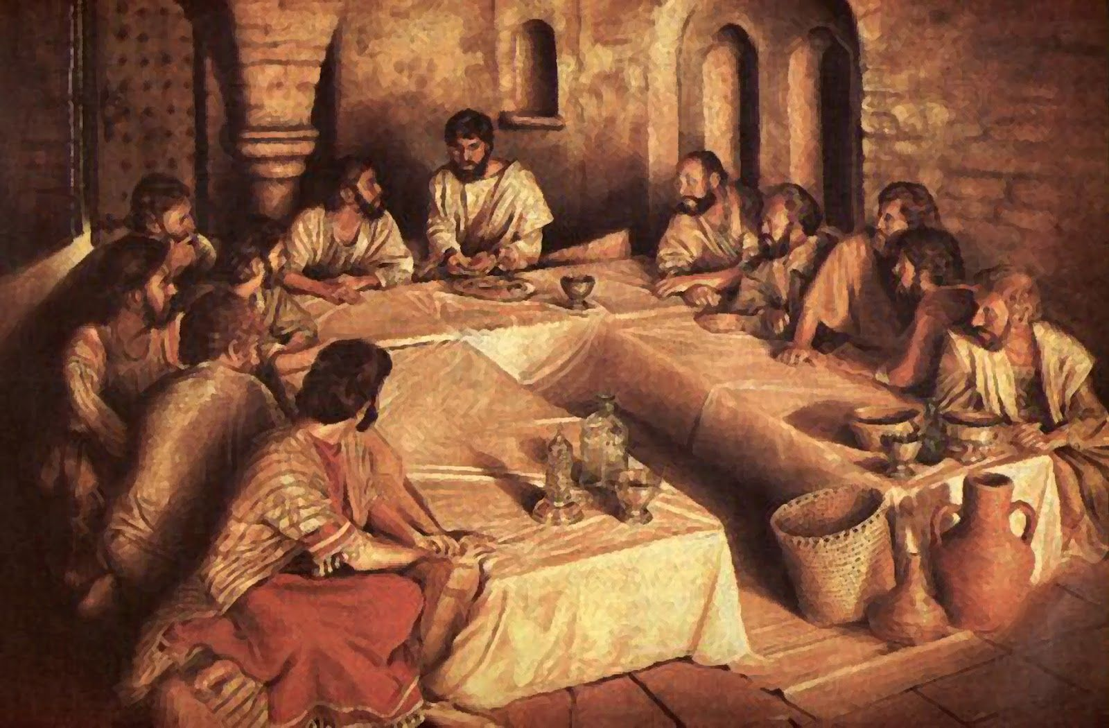 A Triclinium Passover 2012 (With images) | Last supper, Lords ...