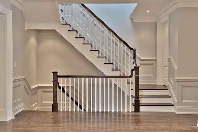 Image result for grey oak railings   Interior railings ...