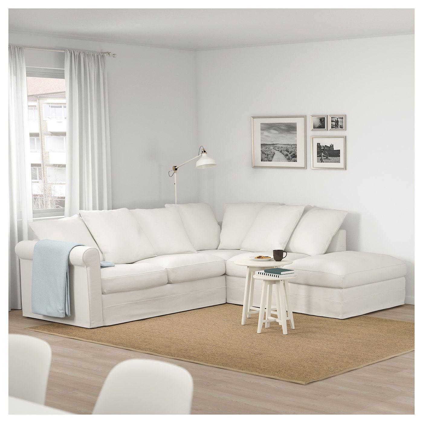 Divano Angolare Piccolo Ikea.Gronlid Divano Angolare A 4 Posti Con Terminale Aperto Inseros