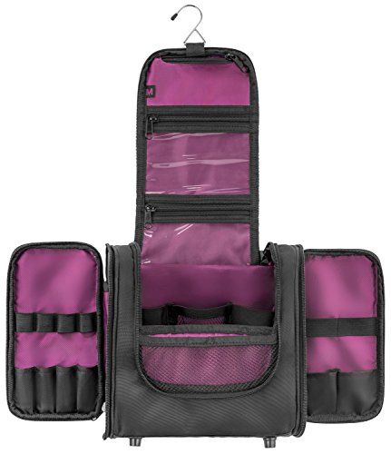 067514634b90 MBM Design Hanging Toiletry Bag - Travel Organizer For Wo ...