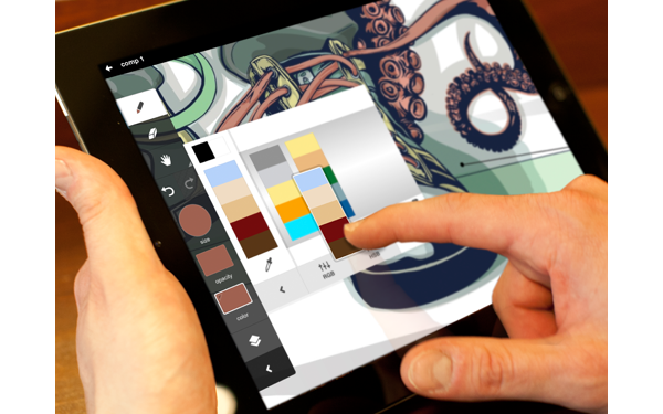 Adobe Ideas app. Mobile illy and in one? Adobe