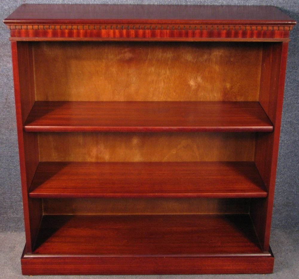 mahogany low bookcase bookshelves shelf unit no 1 bookcase rh pinterest com