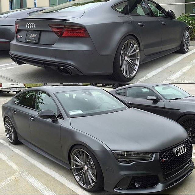 matte daytona grey rs7 audi car carswithoutlimits fastcar rs5 rh pinterest com