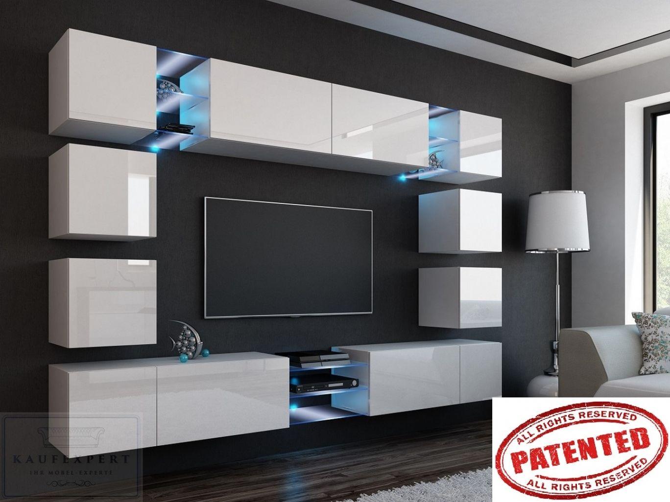 Neu Wohnwand Modern Ebay Wohnwand Modern Modernes Fernsehzimmer Wohnwand Hochglanz