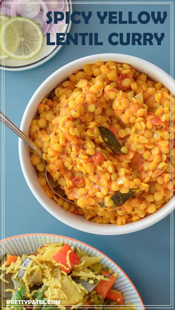 Spicy yellow lentil curry dal tadka recipe yellow lentils spicy yellow lentil curry dal tadka spicy recipeshealthy vegetarian forumfinder Gallery