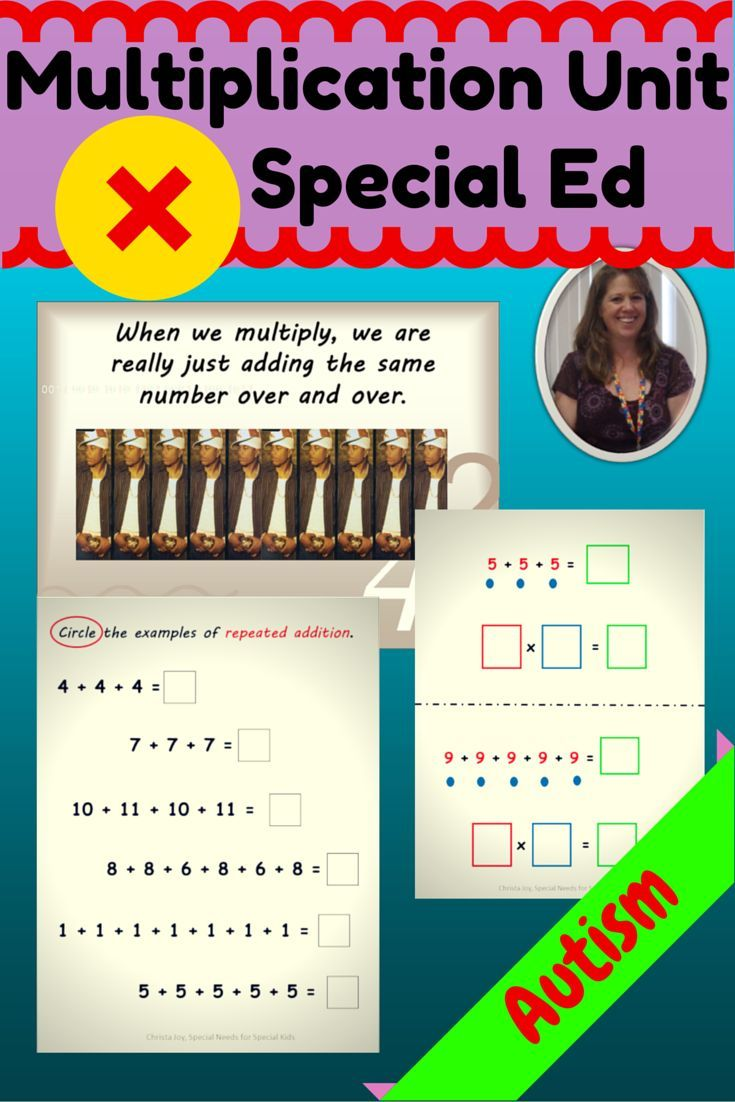 Multiplication Unit For Special Education With Google Slides Distance Learning Special Education Math Special Education Special Education Elementary [ 1102 x 735 Pixel ]