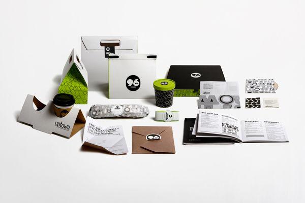 UPTOWN966 by Wondereight , via Behance Simple #packaging #branding ...
