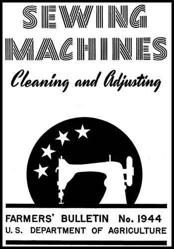 Sewing Machine Cleaning & Adjusting Booklet