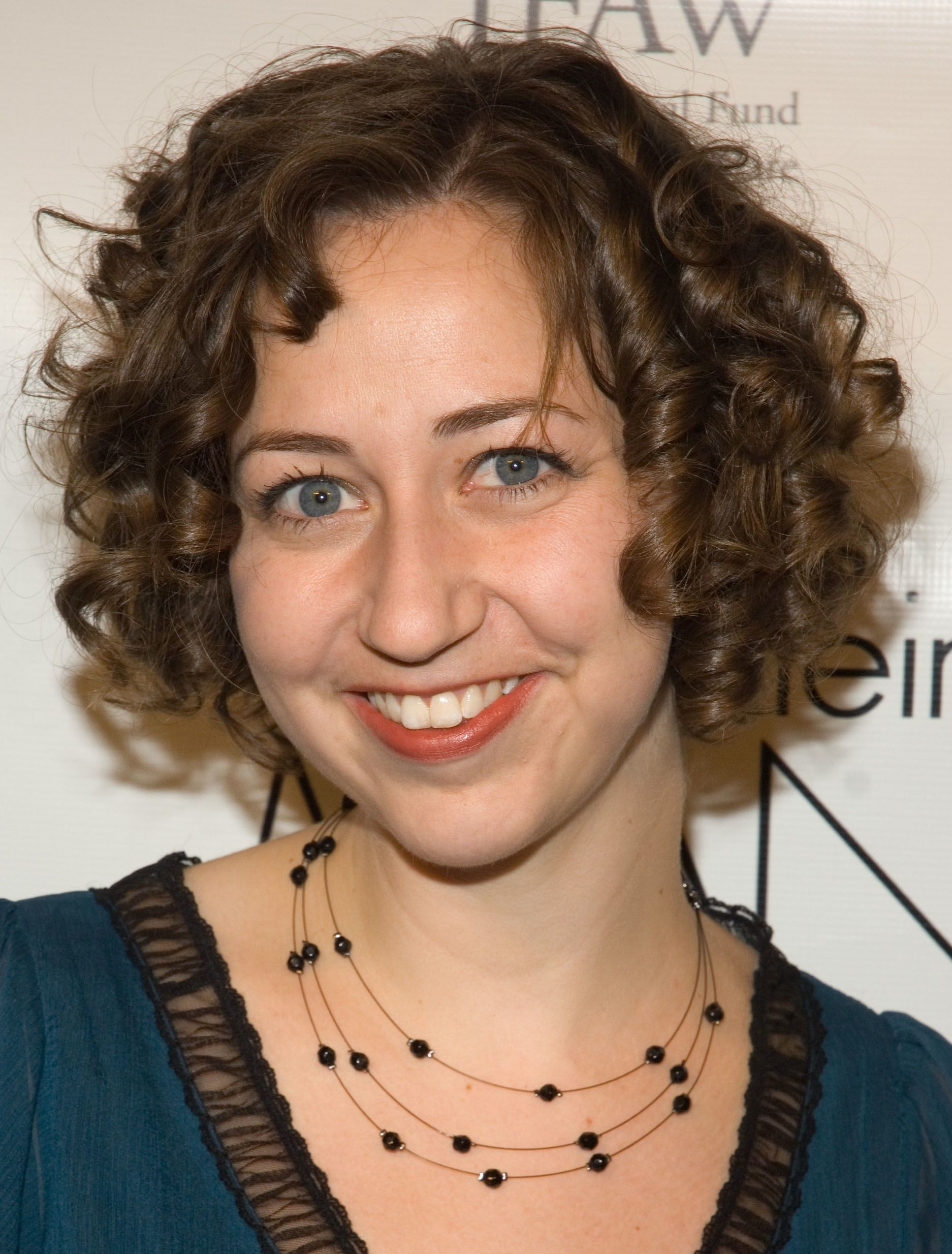 Astonishing Kristen Schaal Short Curly Hair Hairstyles Pinterest Bobs Hairstyle Inspiration Daily Dogsangcom