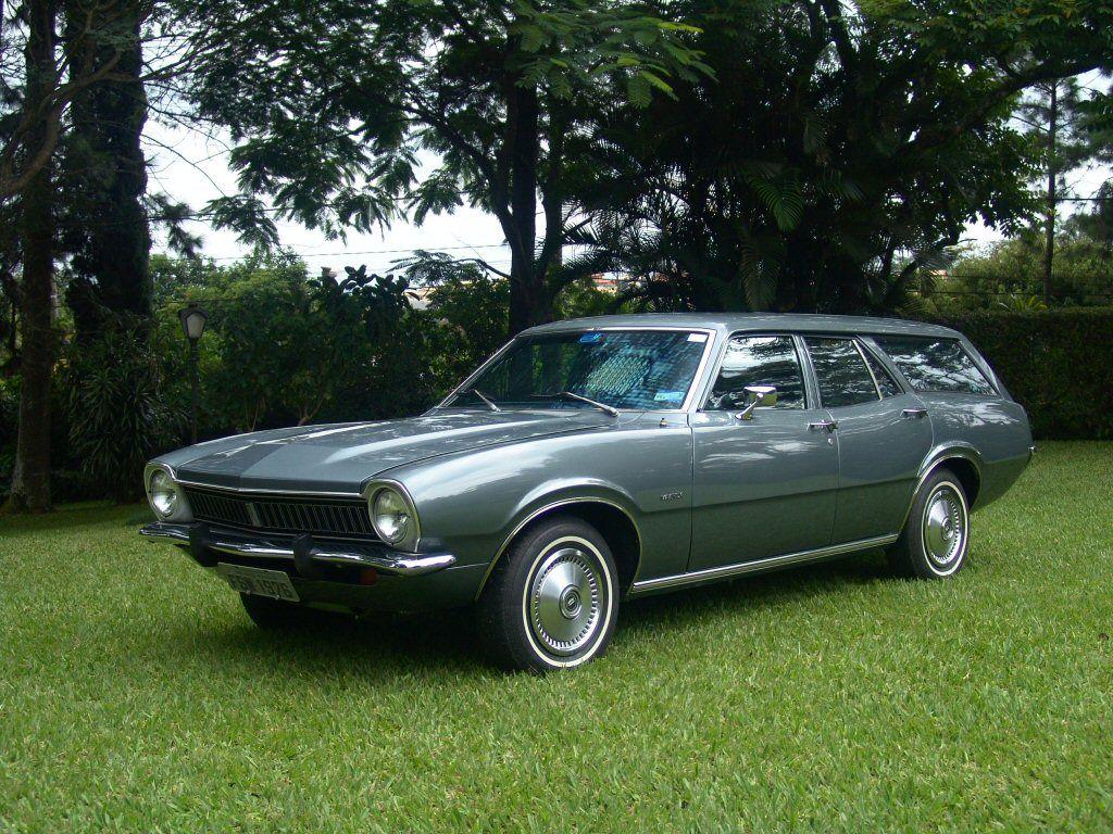 brazilian maverick station wagon cool station wagons hearses rh pinterest com