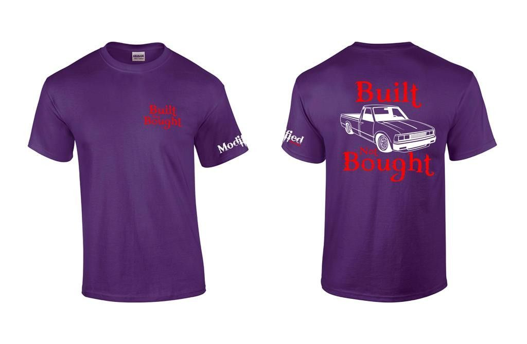 Built not Bought 720 Shirt