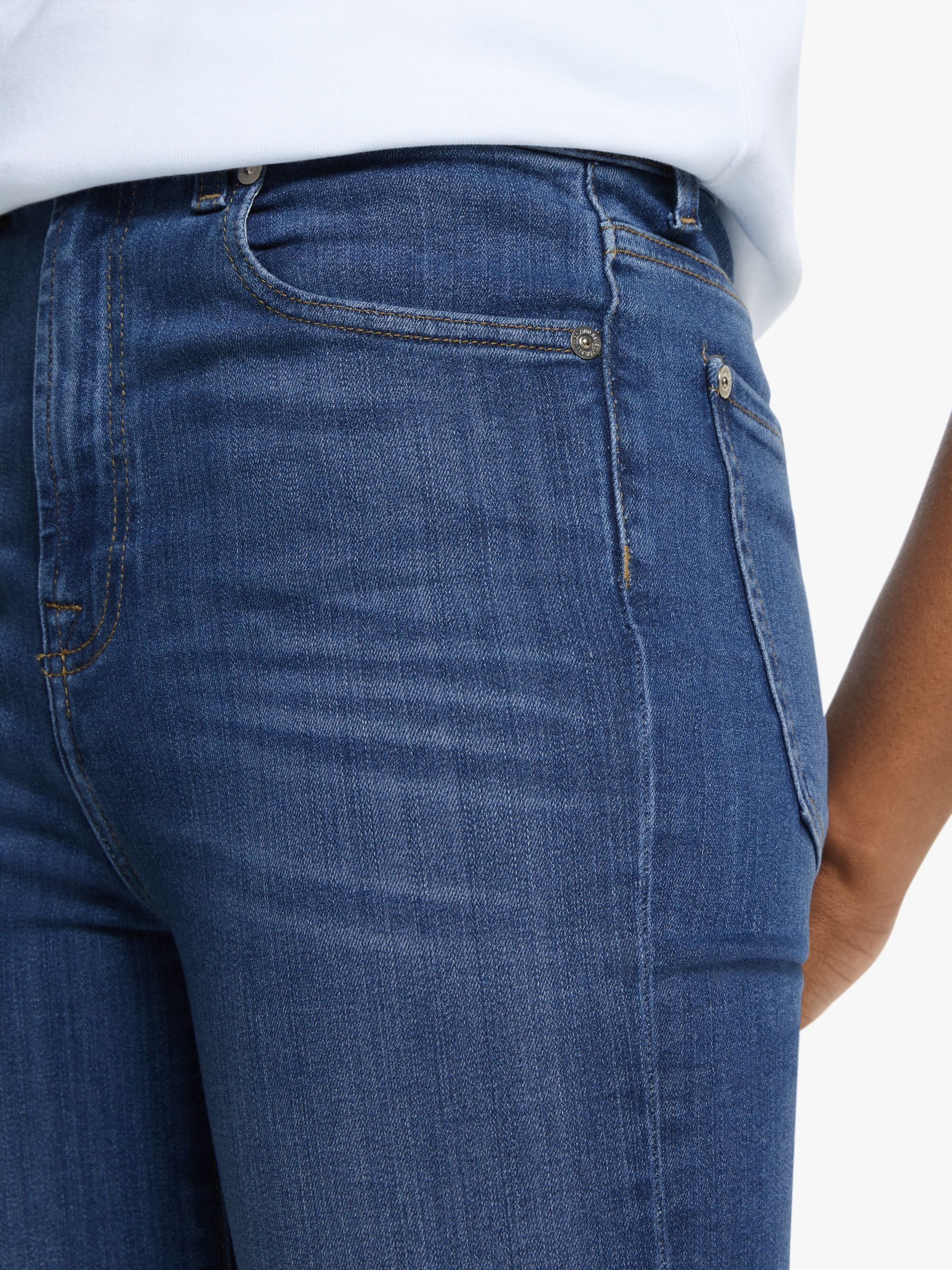 7 For All Mankind Aubrey Skinny Cropped Jeans Love Story