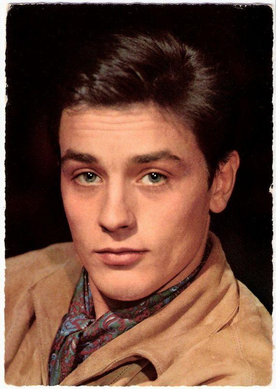 1960s Hairstyles for Men   Hair   Pinterest   Alain delon, Actors ...