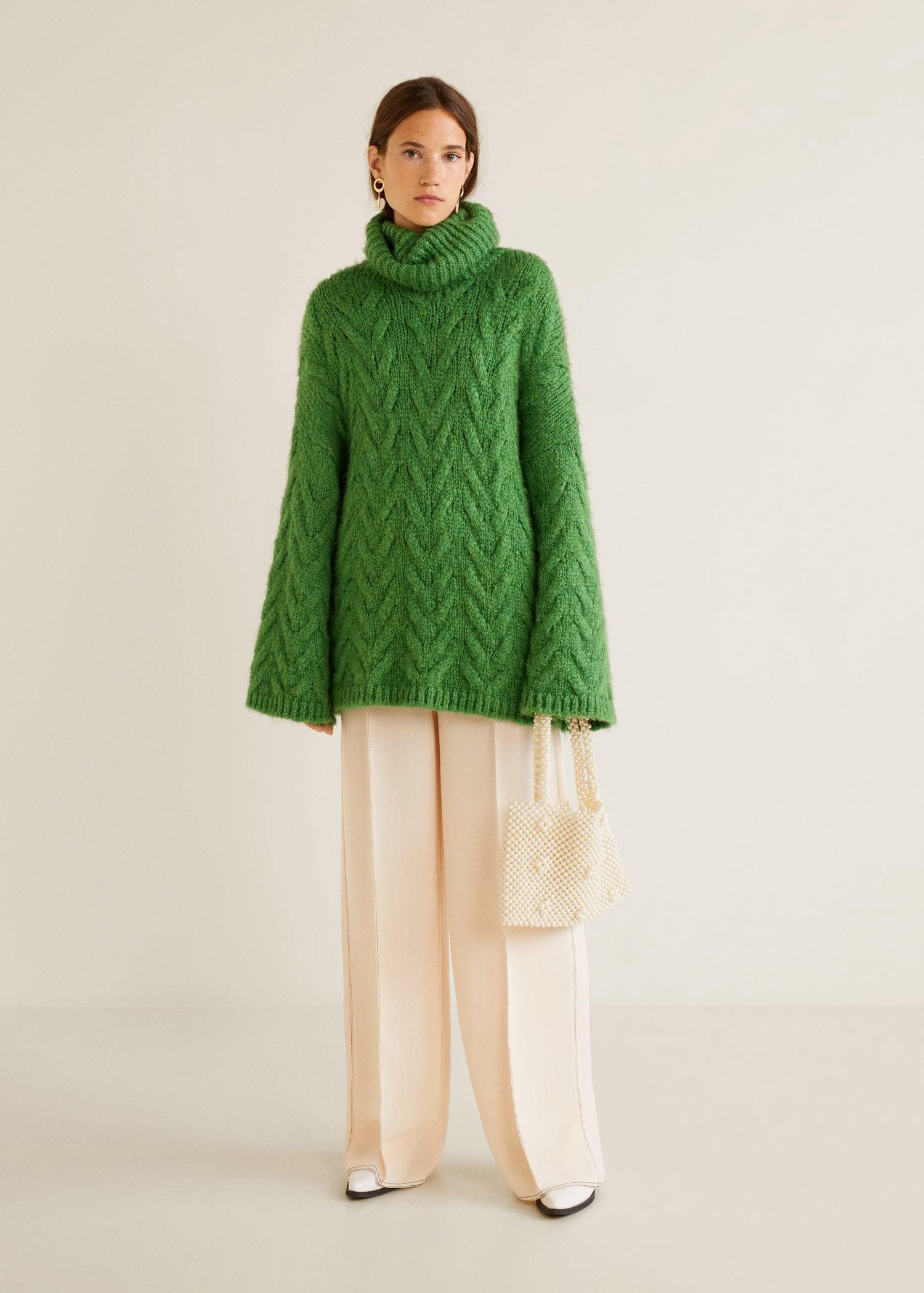 2375f19449a2 Mango Chunky-Knit Sweater - XS