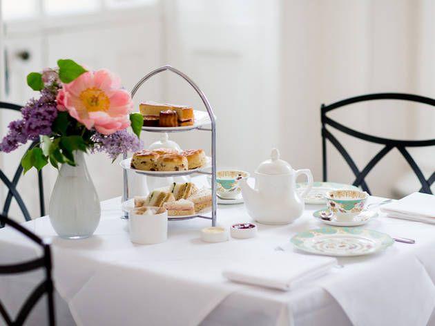 English Afternoon Tea at Kensington Palace Orangery