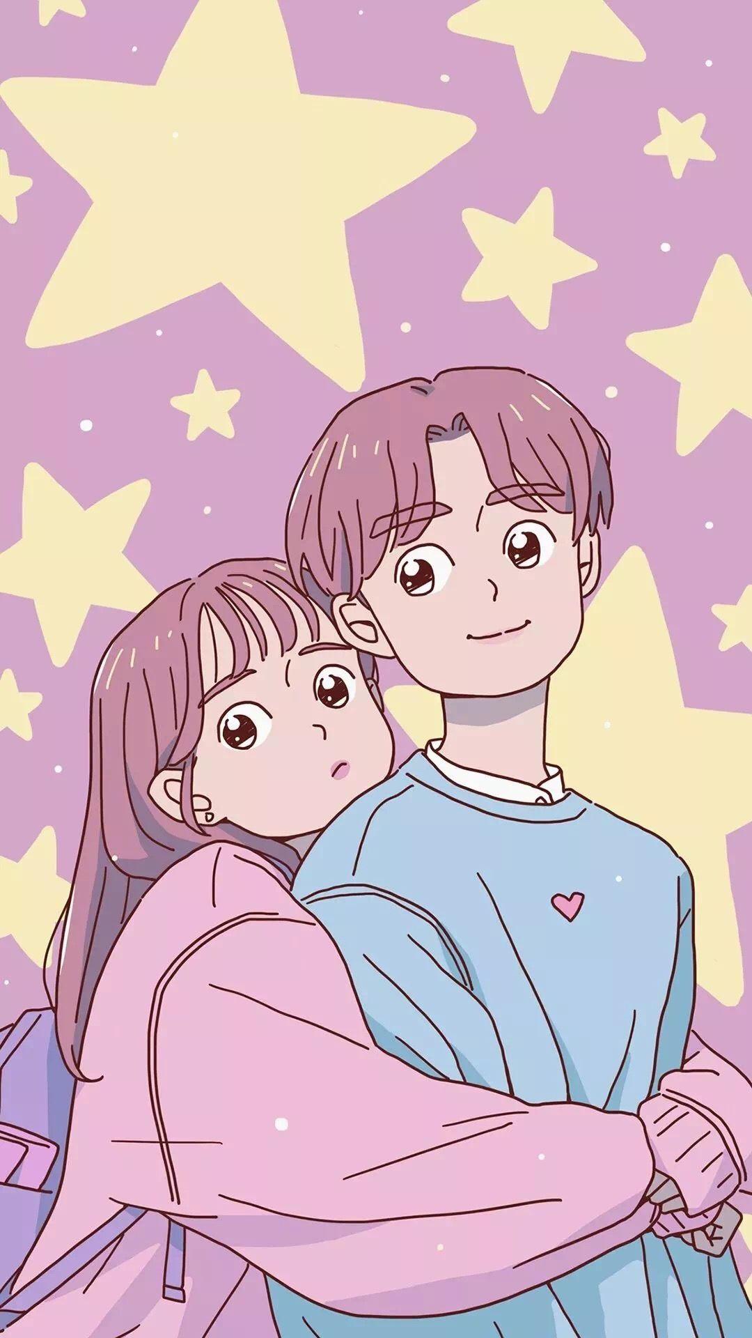 Pin Oleh Chang Di Wallpaper Pink Ilustrasi Karakter Ilustrasi Buku Kartun