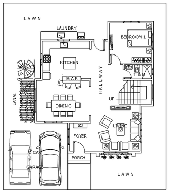 Modern 14 House Designer And Builder 2 Storey House Design Duplex Floor Plans House Architecture Design