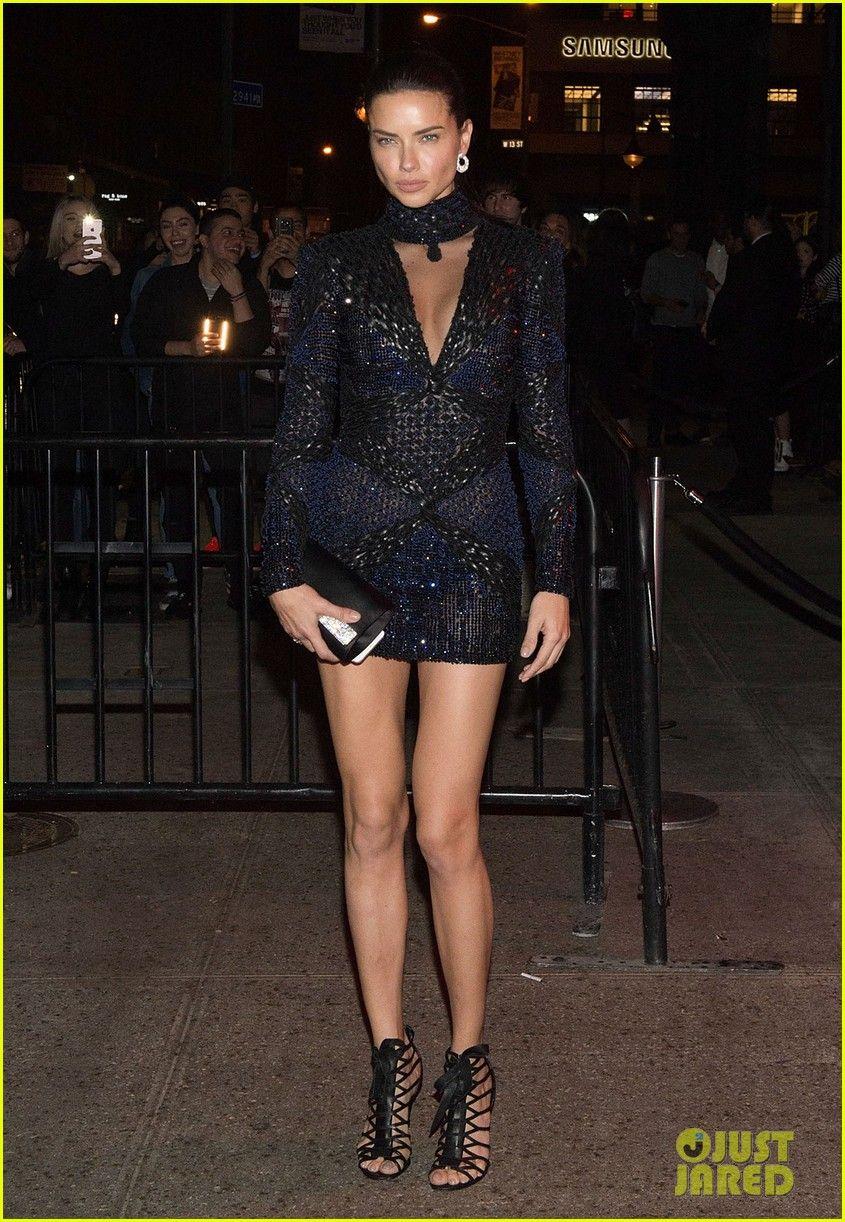 Adriana Lima Ex Julian Edelman Reunite At Met Gala After Party 2017 Adriana Lima Adriana Lima Style Fashion