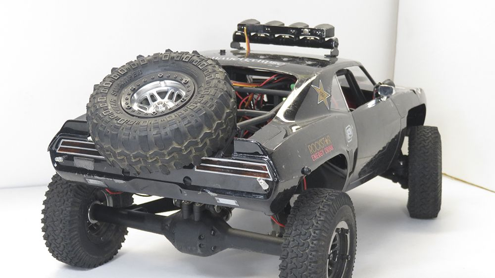 Off Road Buggy Toy Vaterra Twin Hammers Classic Camaro Reader 39;s Ride Radio