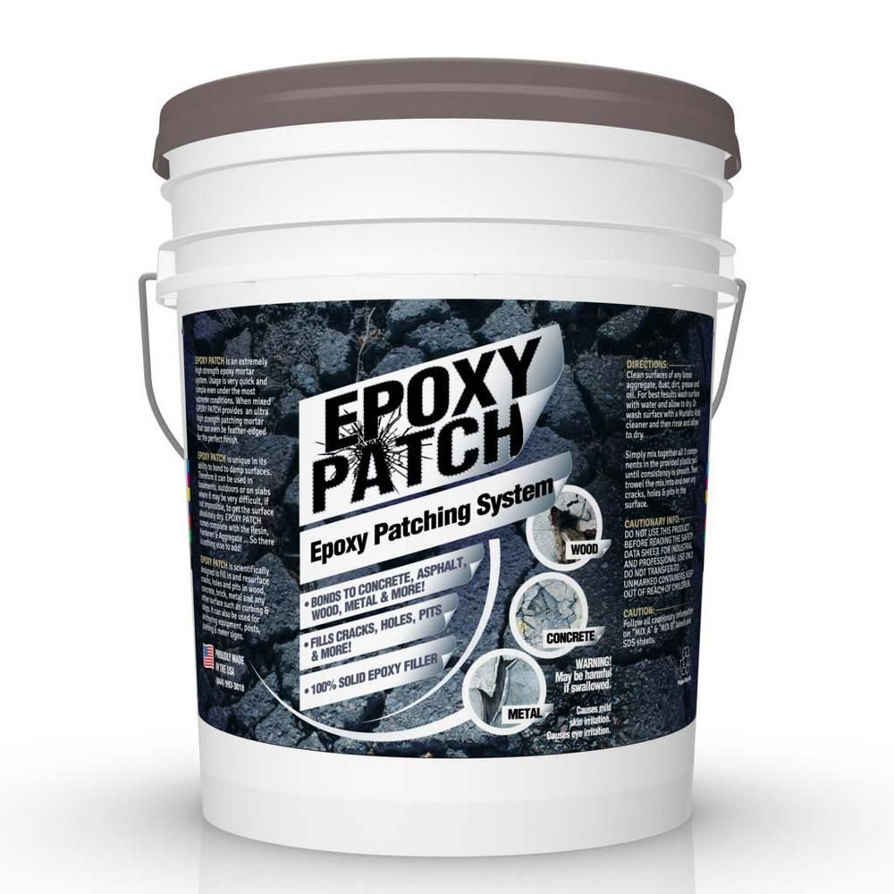 Eco Clean 25 Lb Fdc 3 Part Epoxy Patching System Spatch 25 The Home Depot In 2020 Epoxy Mortar Epoxy Waterproofing Basement Walls