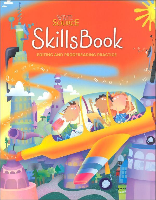 Writing Skills Program Interactive Writing Book Editing Write Source