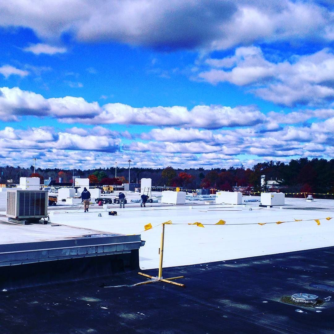Cold Air Blue Skies And Fall Colors Life Is Good On The Roof Beaumontsolar Solar Fall Colors Instagram