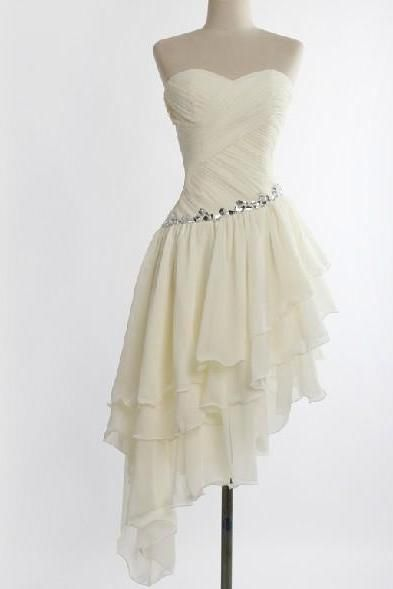 a8e73aee7dd Formal Sweetheart Chiffon Evening Dress Prom Dress Custom Made Bridal Party  Dress c66