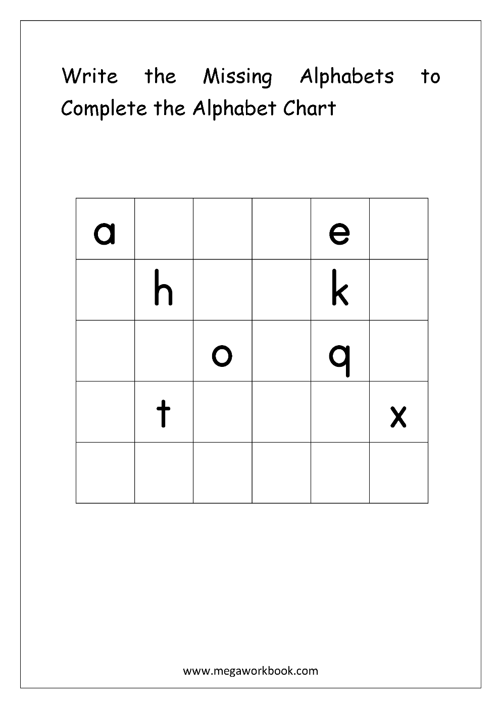 Free English Worksheets Alphabetical Sequence Alphabetical Order M Alphabet Worksheets Free Alphabet Writing Practice English Worksheets For Kindergarten [ 1403 x 992 Pixel ]