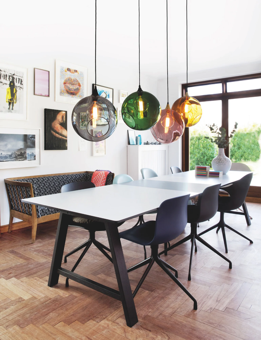 Ballroom Pendant Large In Pink Contemporary Industrial Traditional Mid Century Modern Pendants De Dining Table Lamps Dining Room Pendant Modern Dining Room