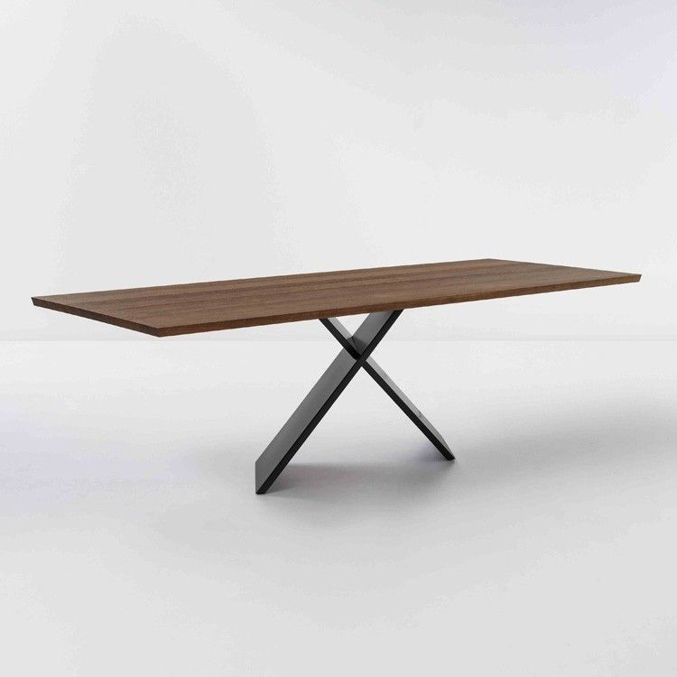 ax wood top dining table by bonaldo a great modern dining table rh pinterest com