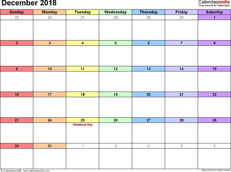 December 2018 calendar quarter calendar pinterest calendar december 2018 calendar quarter alramifo Images