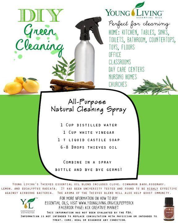 All-Purpose Cleaning Spray Recipe. To Order Essential Oils