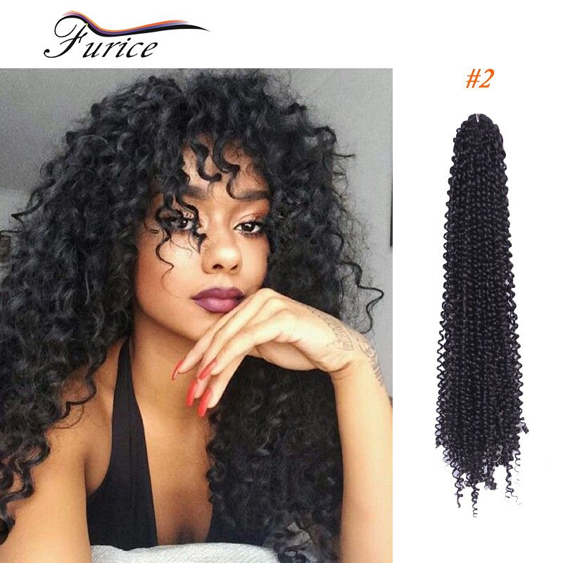 Crochet Braiding Hair Crochet Braids Curly Water Wave ...