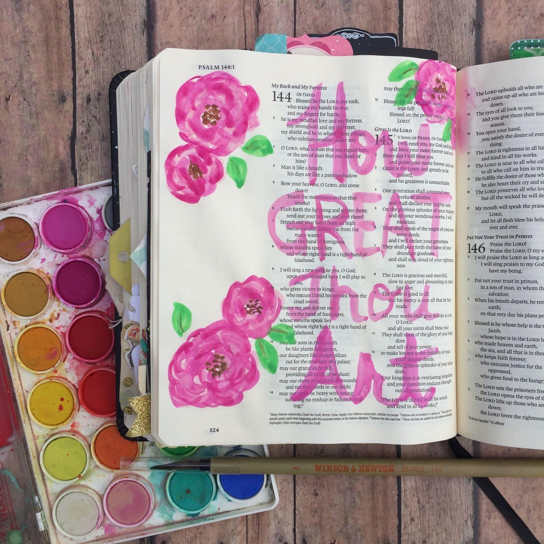 Illustrated Faith - How Great Thou Art - Psalm 145 Blog — A Kiss on ...
