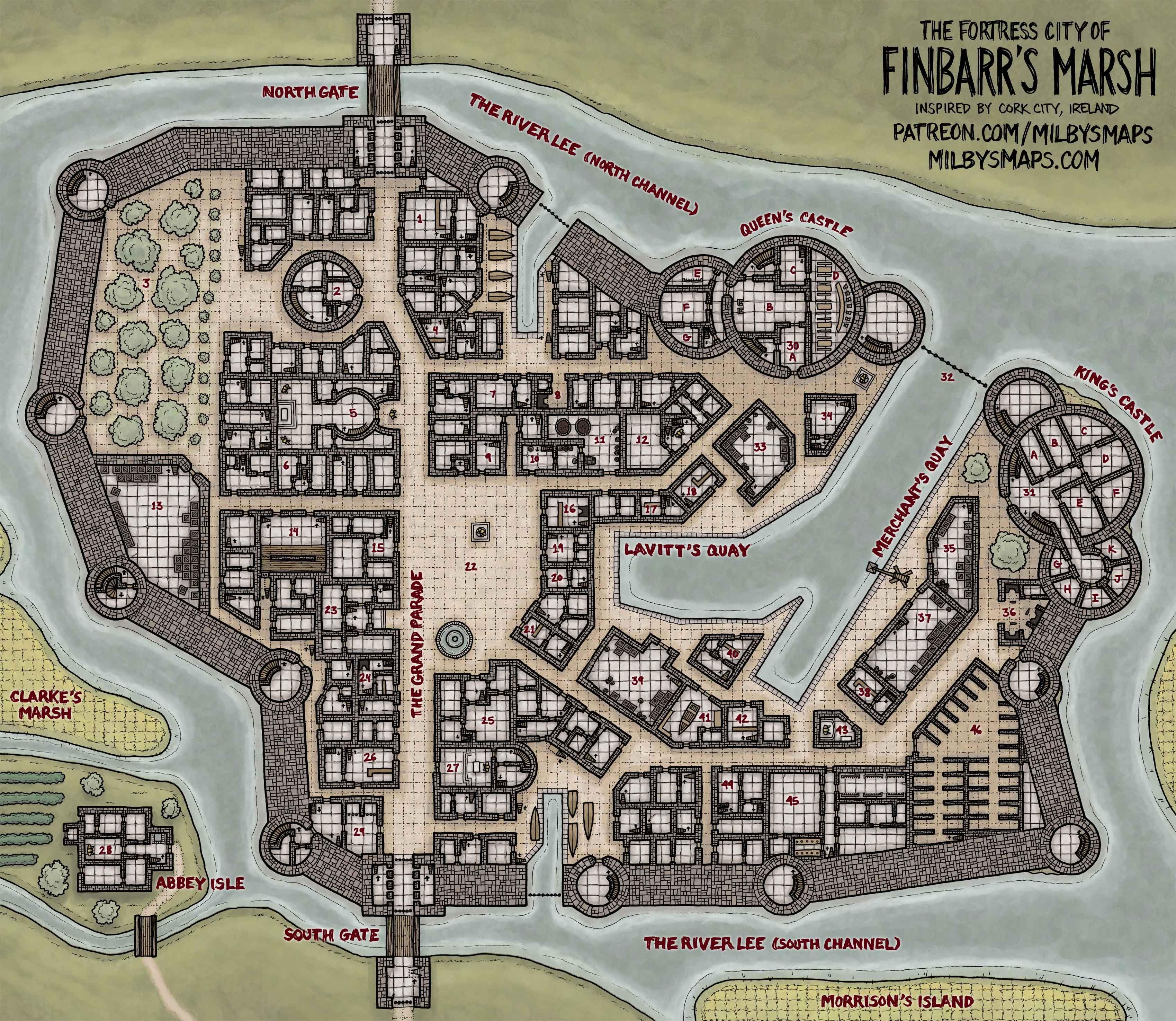 pin by charles plummer on fantasy rpg maps fantasy city map rh pinterest com