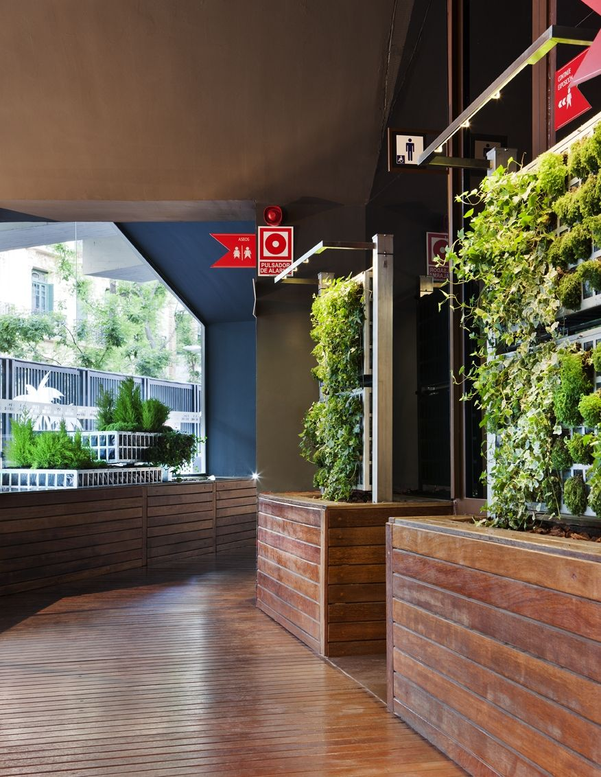 Paisajismo de jardin estilo moderno dise ado por teresa plata air garden arquitecto t cnico - Iluminacion de jardines modernos ...