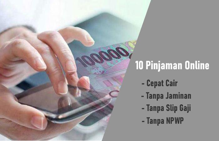 Berikut ini rekomendasi pinjaman online cepat cair tanpa ...
