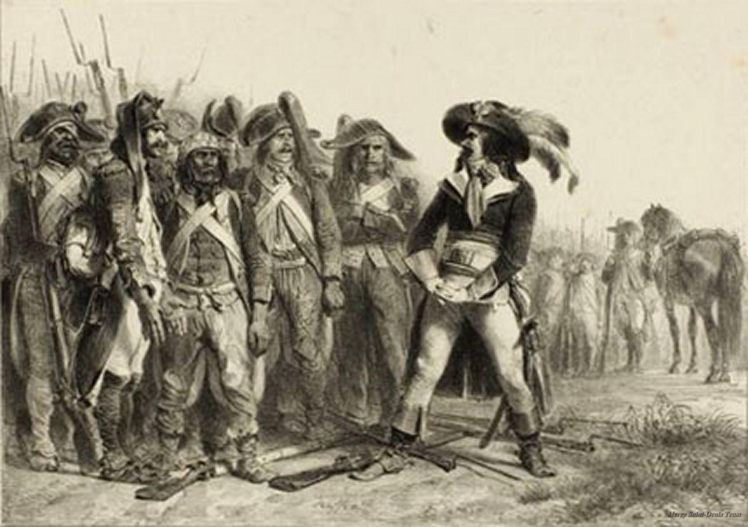 De qué os quejais Unidades del Ejército de Italia plasmadas por Denis-Auguste Raffet (1804-1860).