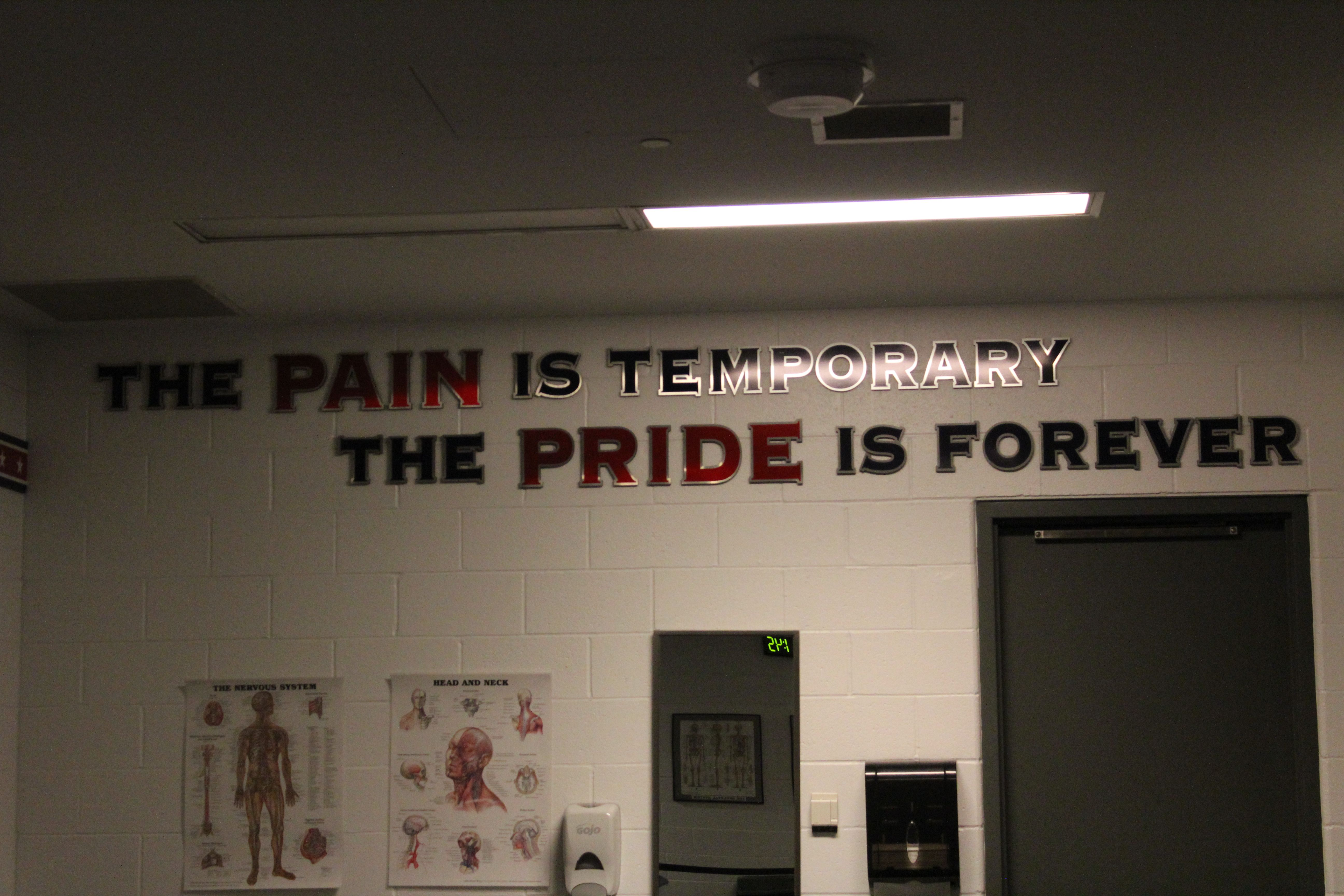 Great quote from Columbus Blue Jackets locker room.  @Columbus Blue Jackets
