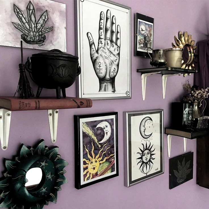 29 Best Diy Witchy Apartment Ideas To Get A Differing Look  #apartment #differing #ideas #witchy