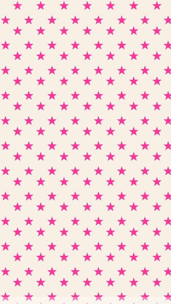 pink star wallpaper  Pink Stars on Tan. on We Heart It | Stars | Pinterest | Wallpaper ...