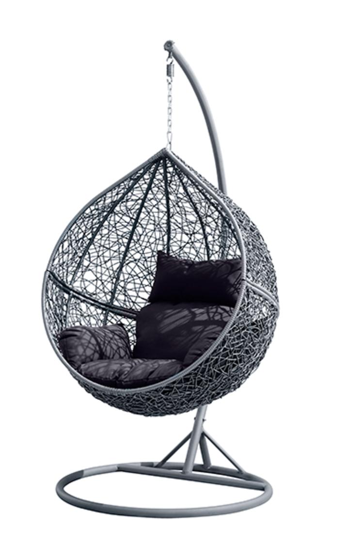 fauteuil suspendu r sine tress e dossier inclinable rallonge escamotable r f nd14503 room. Black Bedroom Furniture Sets. Home Design Ideas
