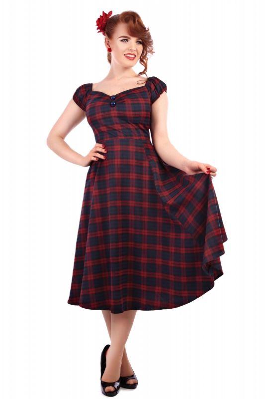 d810aa91e839 Dolores Tai Tartan Doll Dress 2 size 14