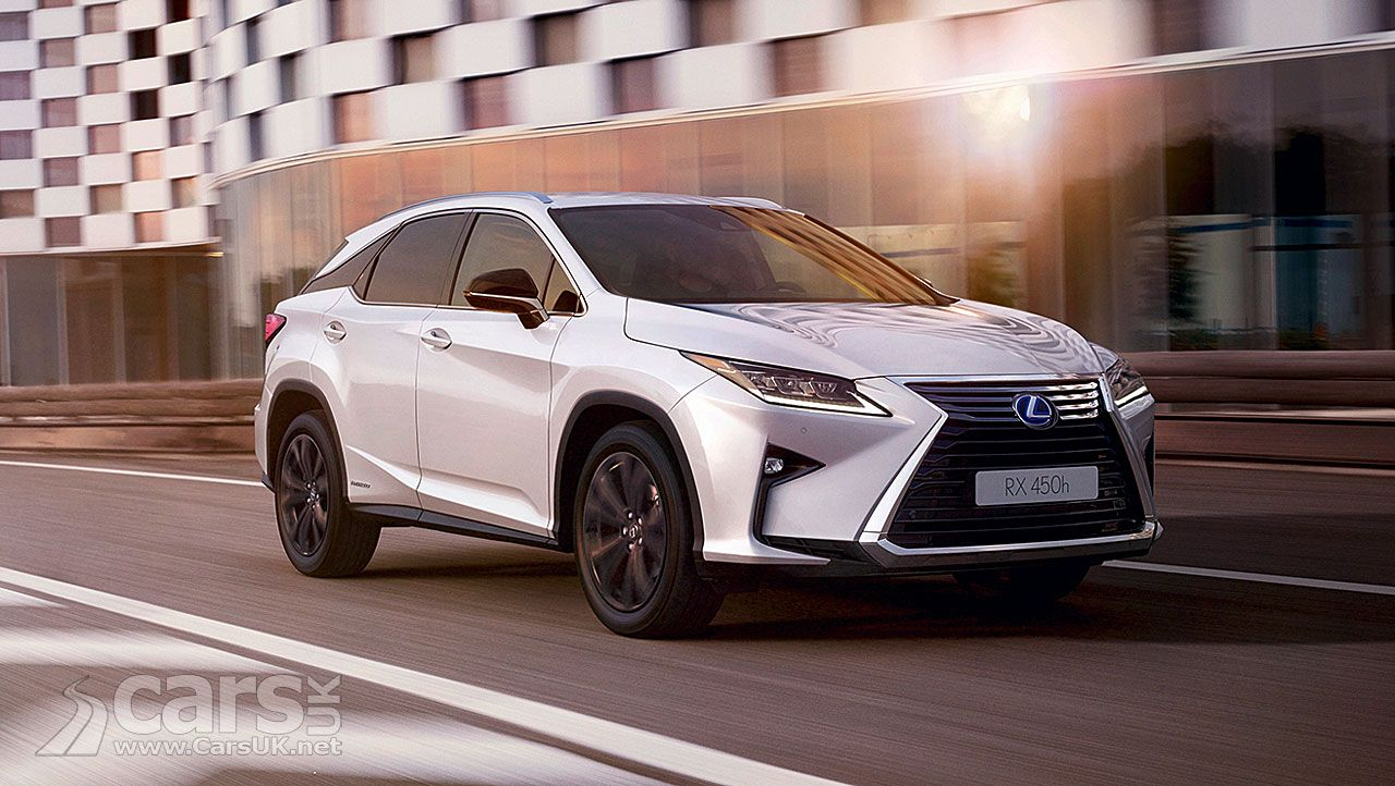 Lexus Suv For Sale >> New Lexus Rx 450h Sport Goes On Sale In The Uk Cars In The