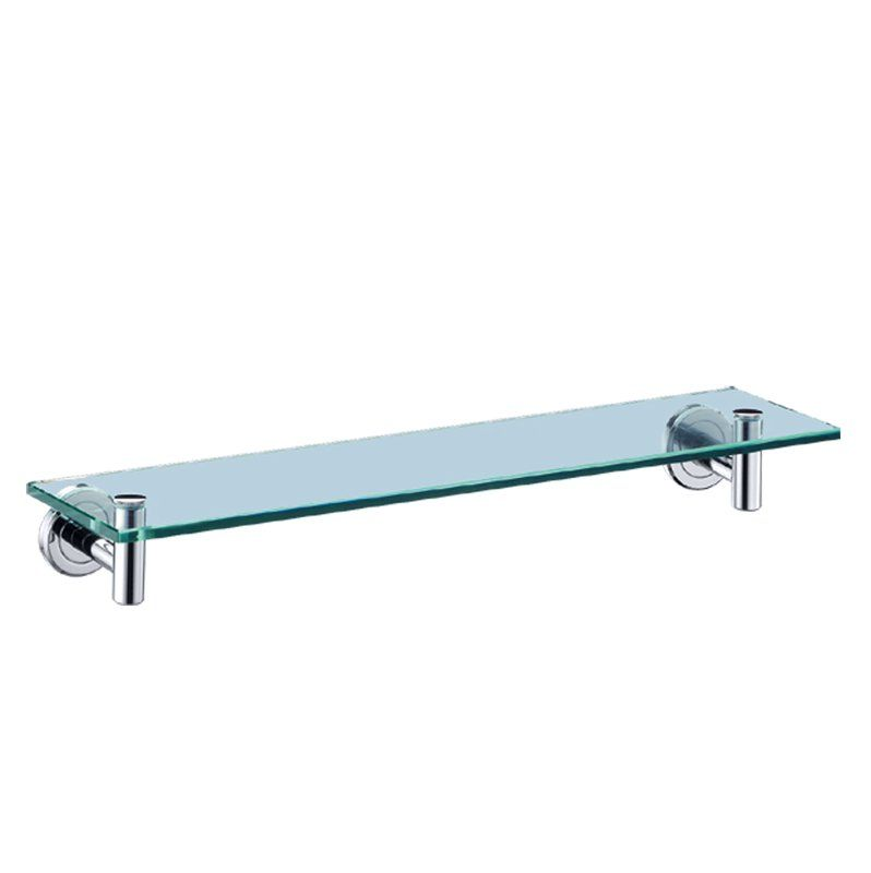 Latitude Ii Wall Shelf Glass Shelves Glass Bathroom Shelves